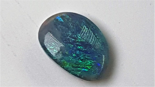 Black Opal 0.72ct Loose UNSET
