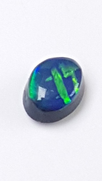Australian Black Opal 0.22 Carats Loose (Un-Set) Gemstone