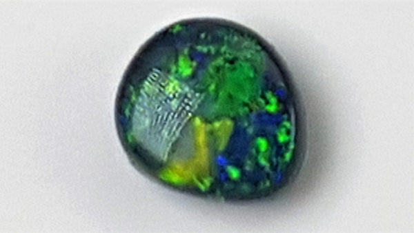 Australian Black Opal 0.36 Carats Loose (Un-Set) Gemstone
