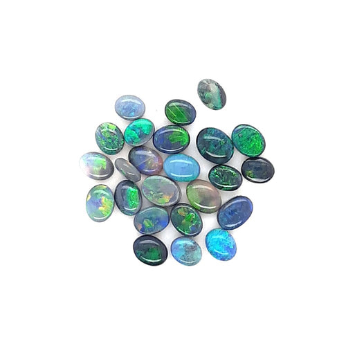 Australian Black Opal 0.13 Carats Loose (Un-Set) Gemstone