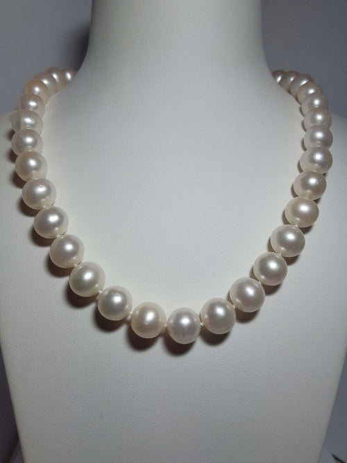 Pure Pearl Strand set in St Silver