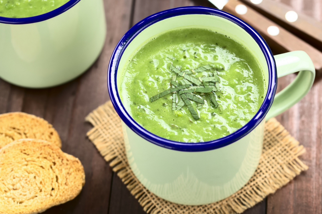 Minted Pea Soup (Vegan)