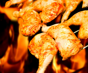Barbeque Chicken (500g)