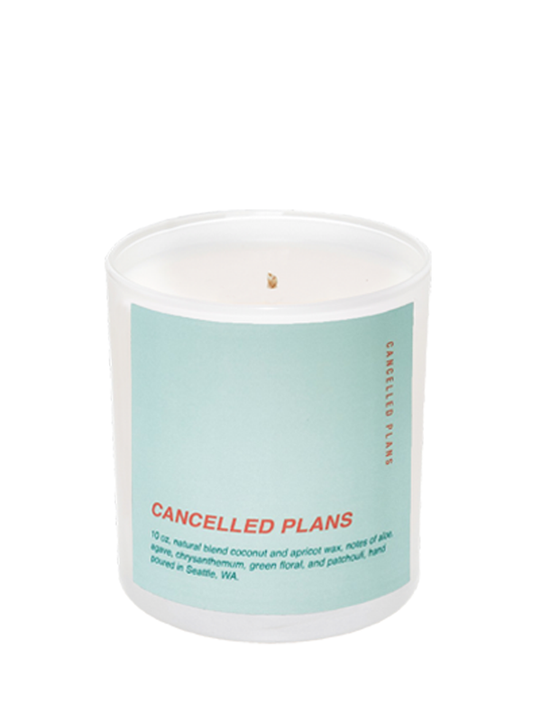 Cancelled Plans Cancelled Plans candle
