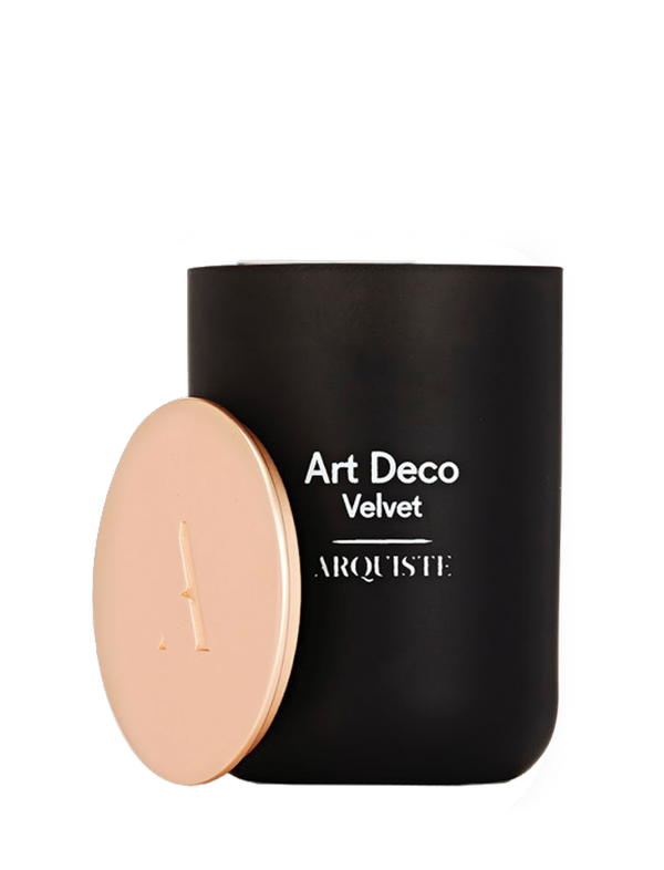 arquiste Art Deco Velvet scented candle