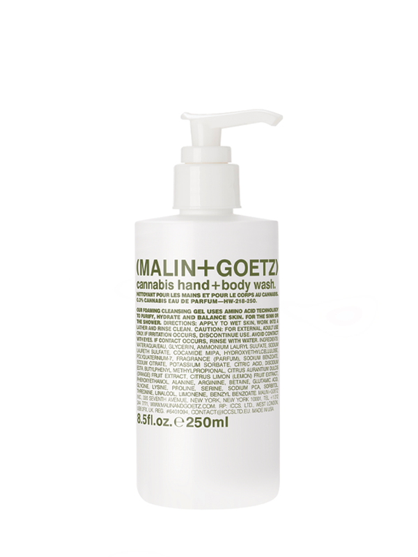 malin + goetz cannabis hand and body wash