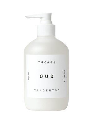 tangent garment care oud body lotion