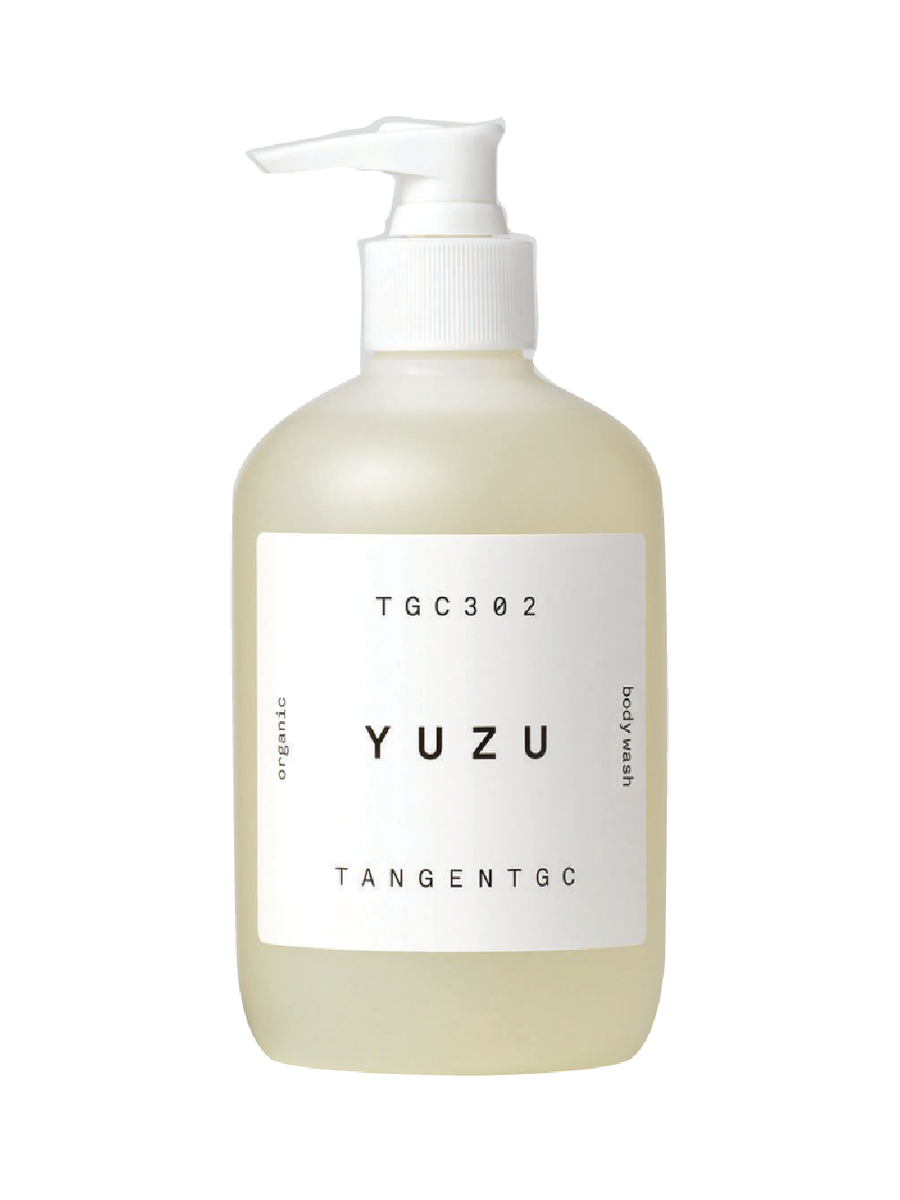 tangent garment care yuzu body wash