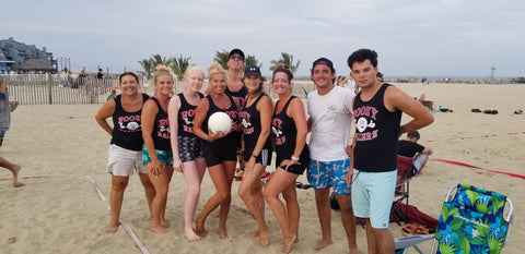 recreational beach volleyball team in Point Pleasant