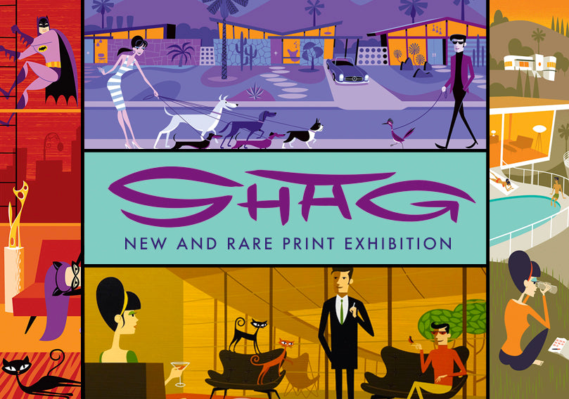 Shag – New & Rare Print Exhibition