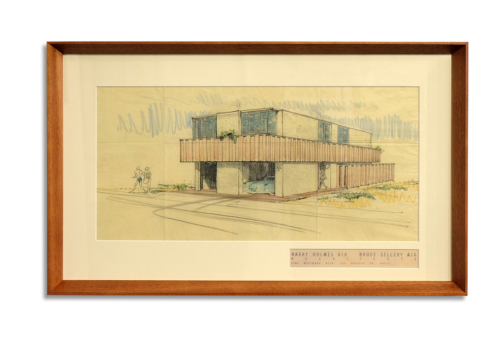 Architectural Rendering of Seaside House