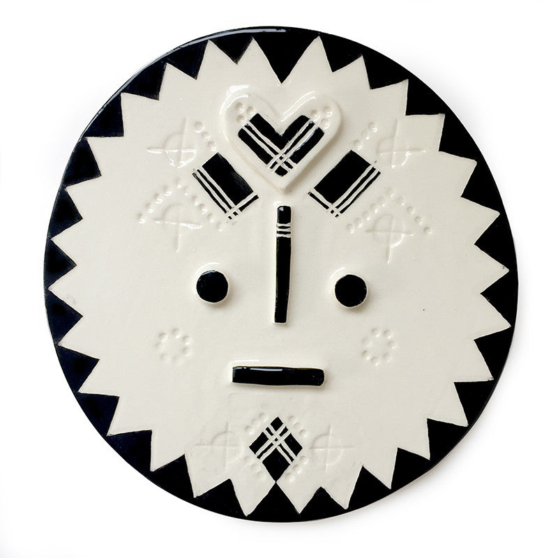'Kimba' - Ceramic Face
