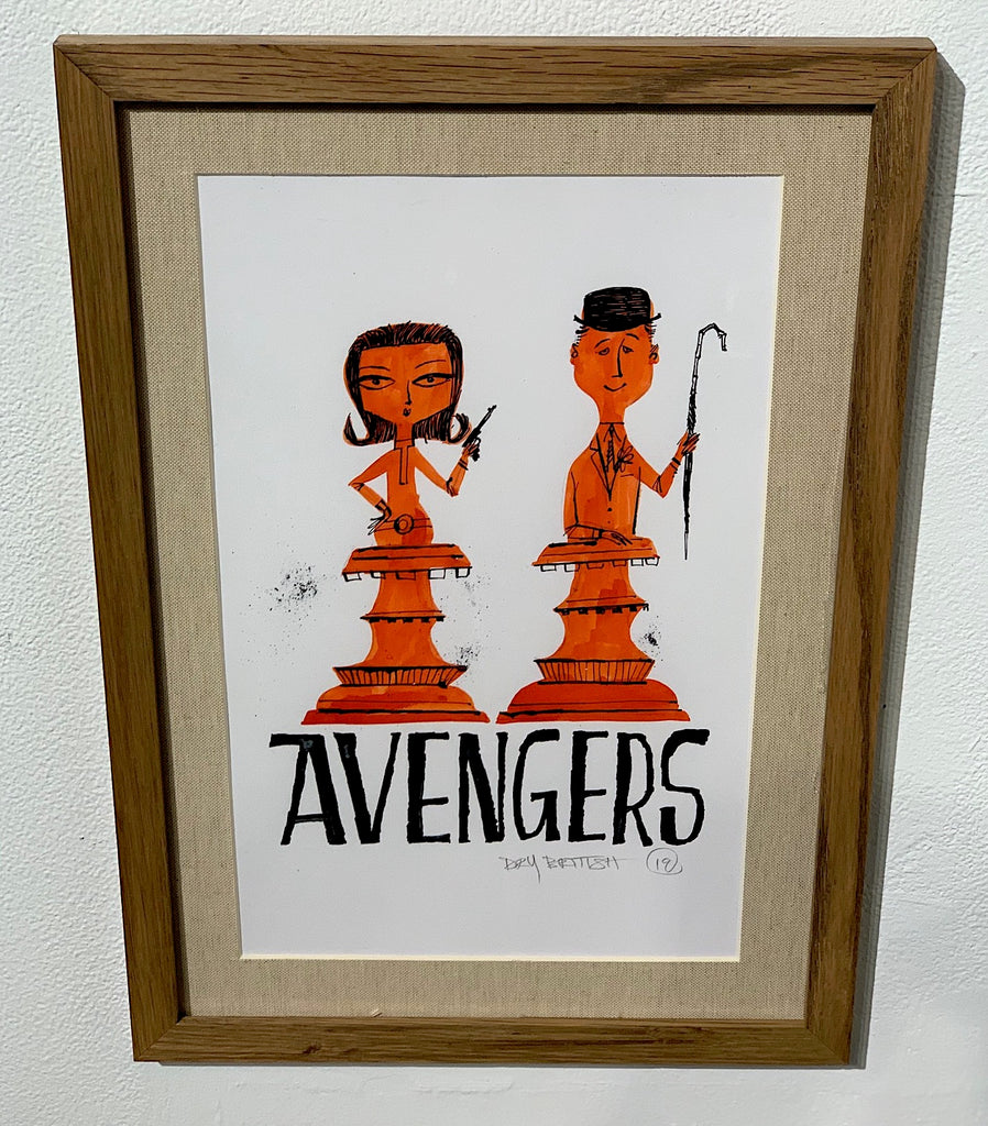 Avengers (Peel and Steed - Chess)