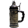 Baphomet (Sculpted) Stein with metal lid