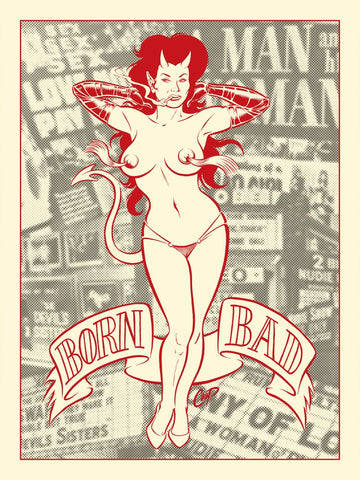 Born Bad (Pin-Up Devil Girl)