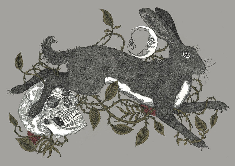 Brambles, Rowan and the Hare (Variant)