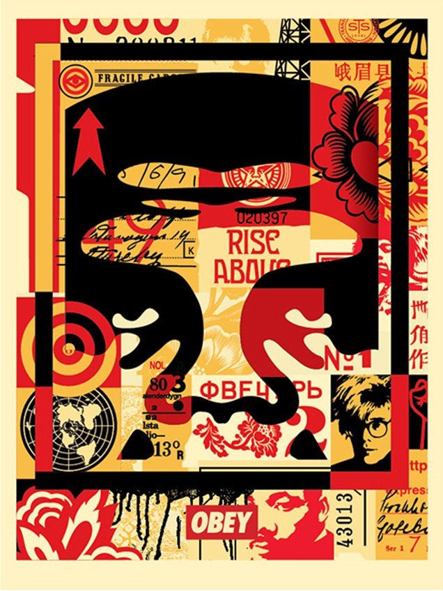 Obey - Collage III (Rise Above)