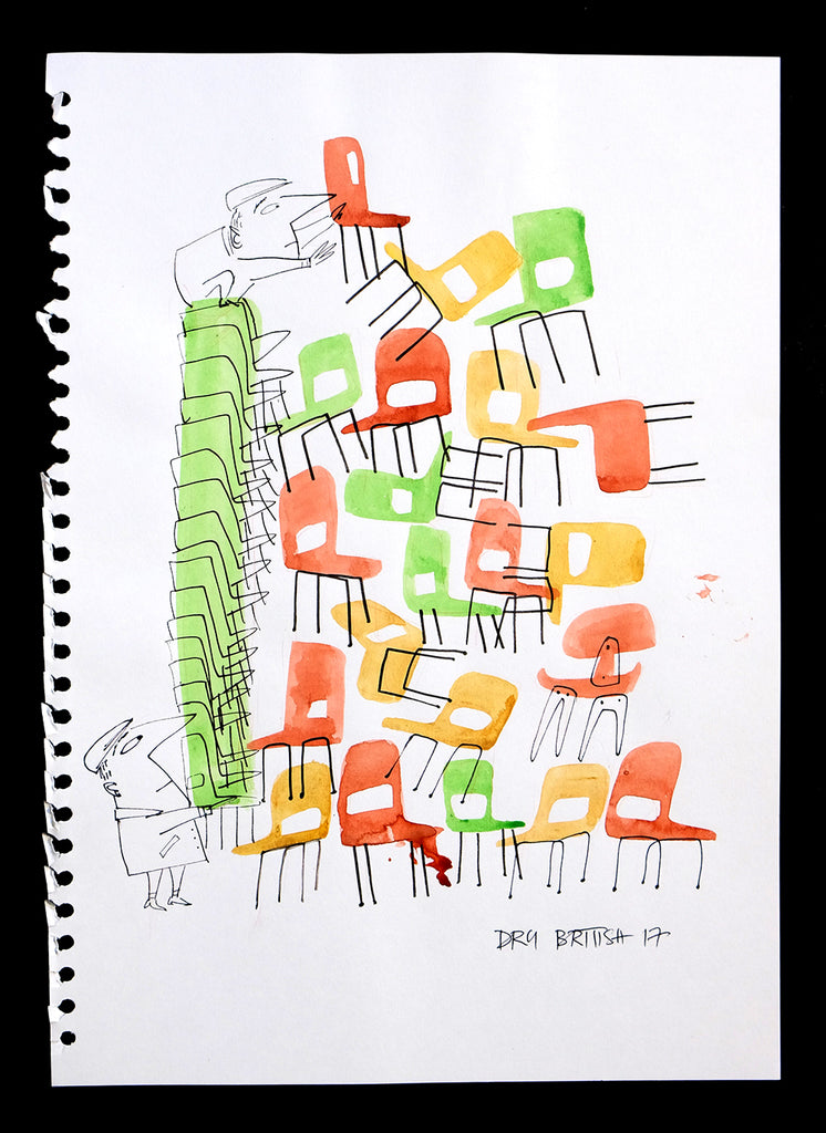 Stacking Chairs no.1