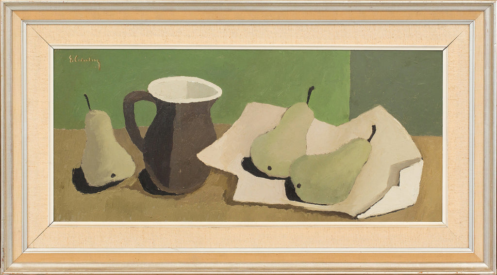 Still Life with Pears and Jug