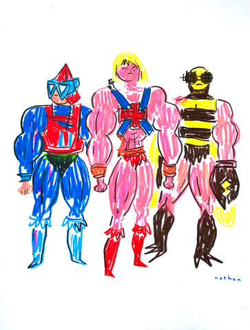 He-Man with Buzz-Off and Mekaneck