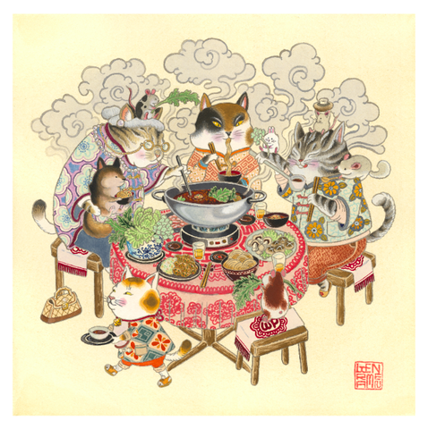 Hot Pot Cats