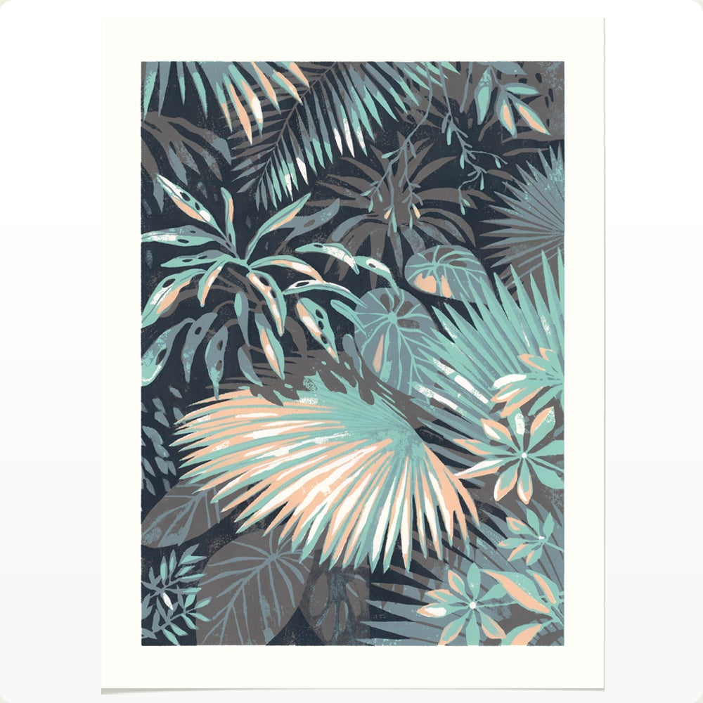 Huntington Conservatory 1 (LARGE SILKSCREEN EDITION)