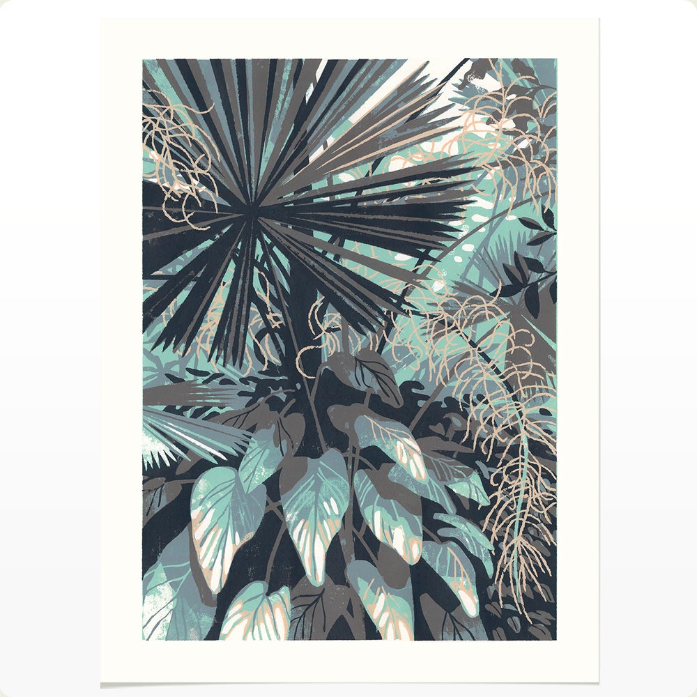 Huntington Conservatory 2 (LARGE SILKSCREEN EDITION)