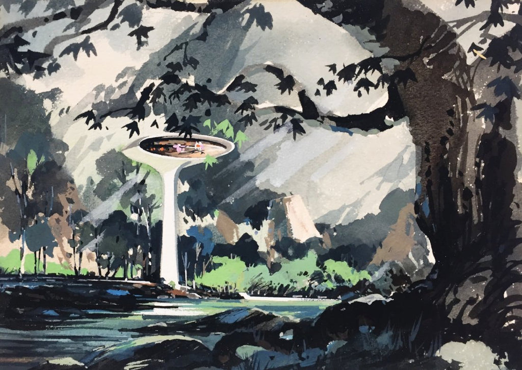 Space Age House Concept Artwork