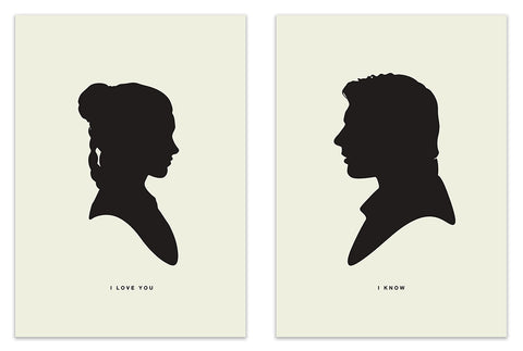 I Love You / I Know (2 print set)