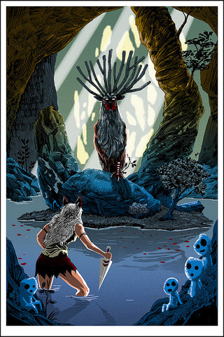 Pool of the Forest God (Princess Mononoke)