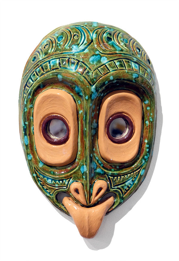 Ceramic Mask / PNG POP no. 8