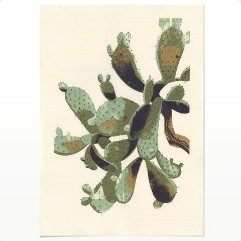 Prickly Pear (LARGE SILKSCREEN EDITION)
