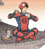 Rooftop Hero (Spider Man)