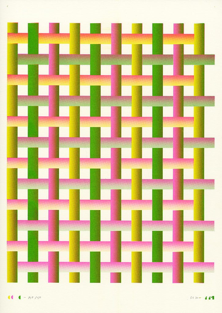 SC 114 (yellow green pink intersecting horizontal vertical)