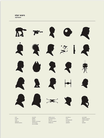 Star Wars Alphabet
