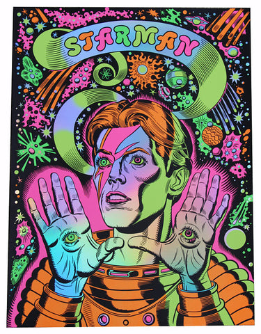 Starman (David Bowie) - Holographic Edition