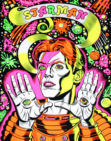 Starman (David Bowie) - Psychedelic Edition