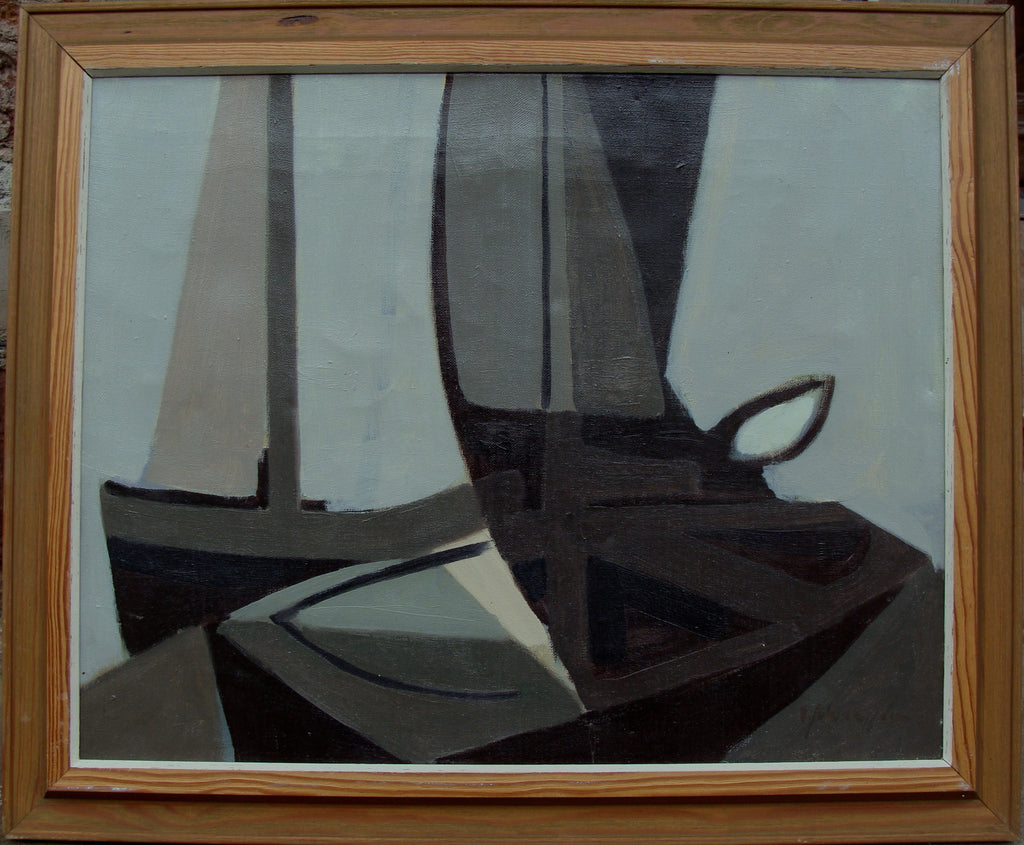 Untitled (Abstract Yacht)