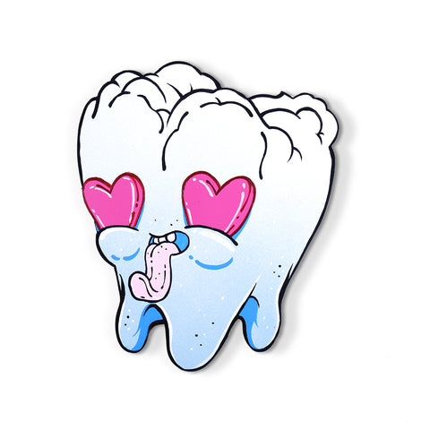 Tooth (Blue Heart Eyes)