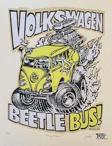 Volkswagen Beetle Bus (yellow) (RF TM PE 057)