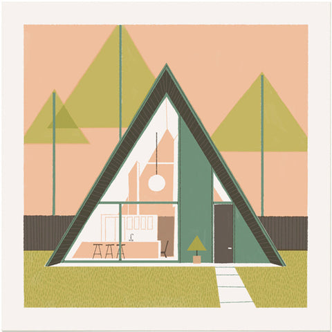 Geometric House - A-Frame