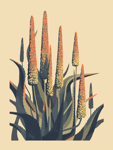 Aloe (LARGE SILKSCREEN EDITION)