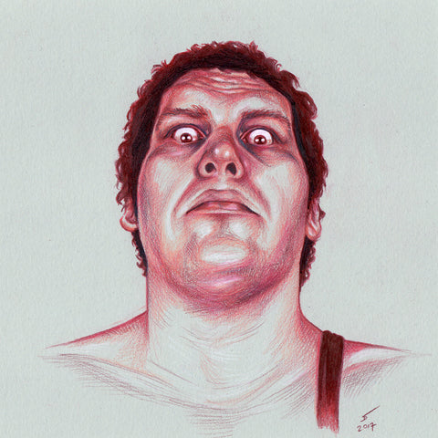 Andre The Giant (Print)