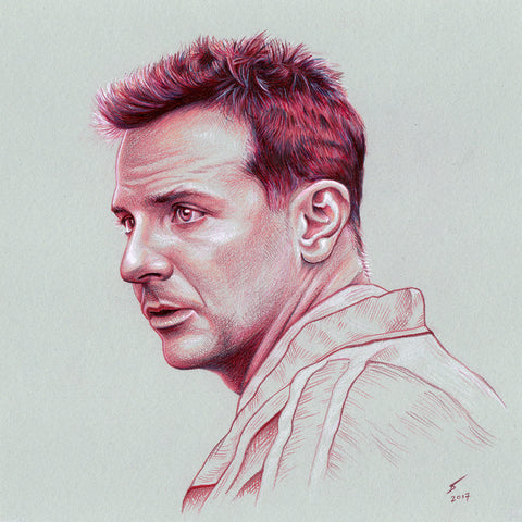 Avery (Bradley Cooper) (original artwork)