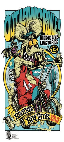Outlaws Rule (Brother Rat Fink)