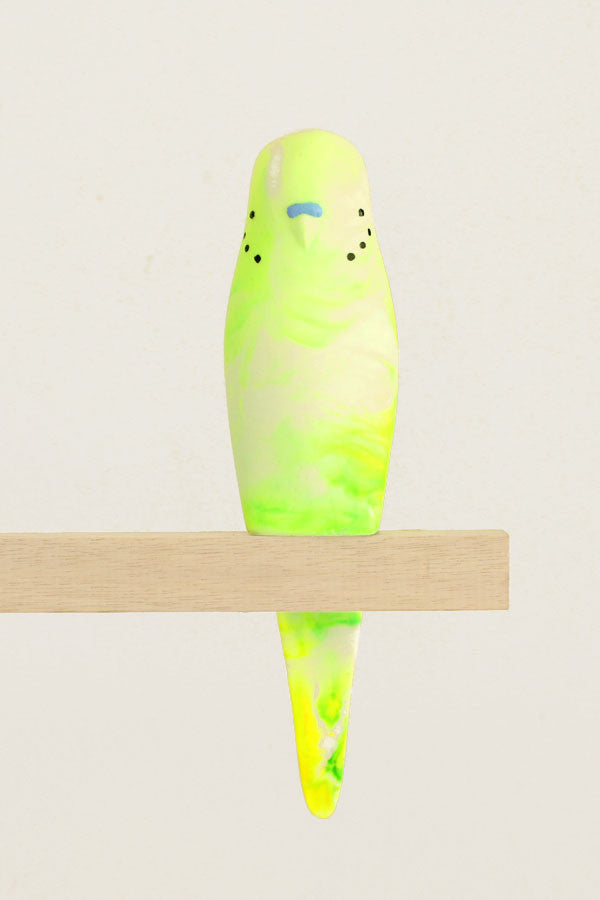 Resin Budgerigar - 'Billy'