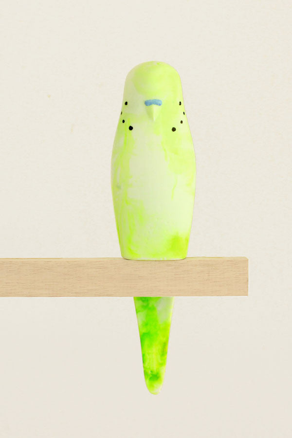 Resin Budgerigar - 'Bobby'