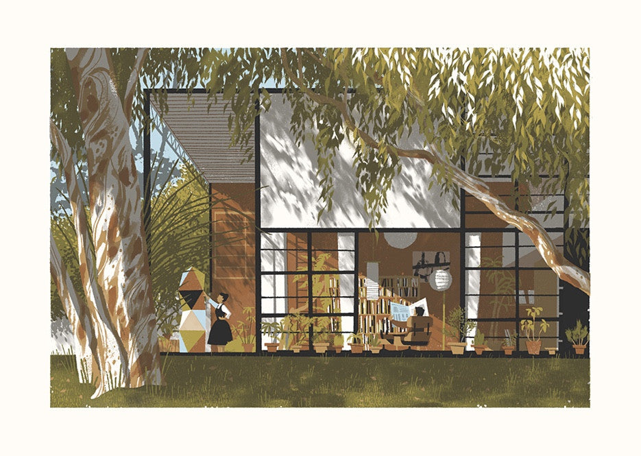 Eames House (larger size)