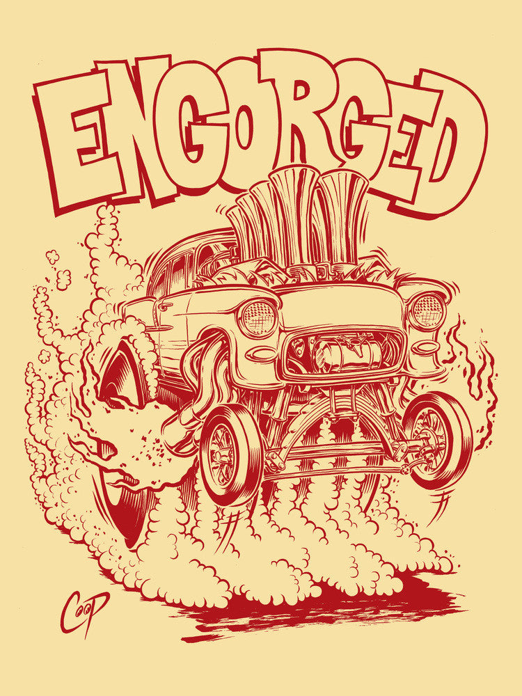 Engorged