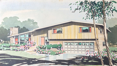 Mid Century Ranch House
